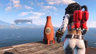 Fallout 4 Nuka-World - костюм Ядер-герл