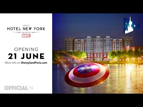 Un aperçu exclusif de Disney's Hotel New York – The Art of Marvel qui ouvrira le 21 juin 2021