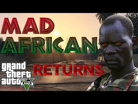 African Rebel TERRIFIES Dad In Online Gta 5 Lobby!