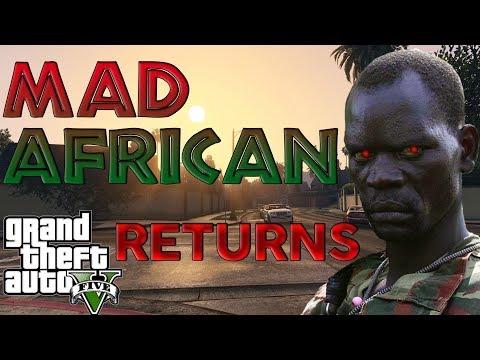 African Rebel TERRIFIES Dad In Online Gta 5 Lobby!