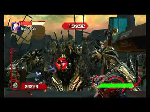 Transformer Cybertron adventures WII Walkthrough Autobots - Stage 7 - Battle to Extinction