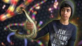 משחק הנחשים הגדול! [slither.io]