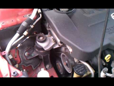 2004 Mazda 6 2.3L - Belt Tensioner Noise? - YouTube
