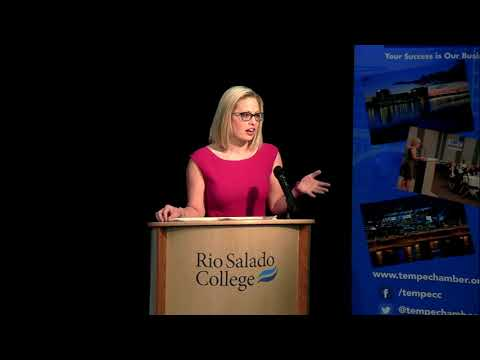 Congresswoman Kyrsten Sinema State of the District to Tempe Chamber of Commerce March 29, 2018