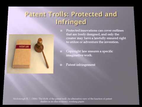 Intellectual Property Patent trolls