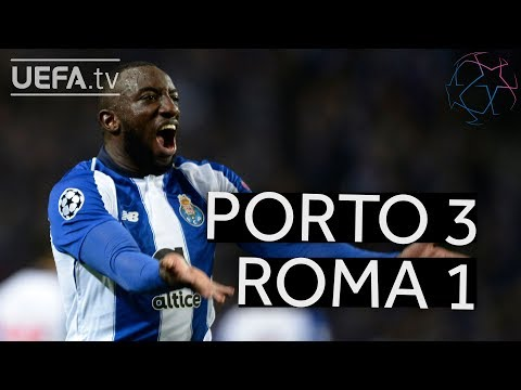 PORTO 3-1 ROMA #UCL HIGHLIGHTS