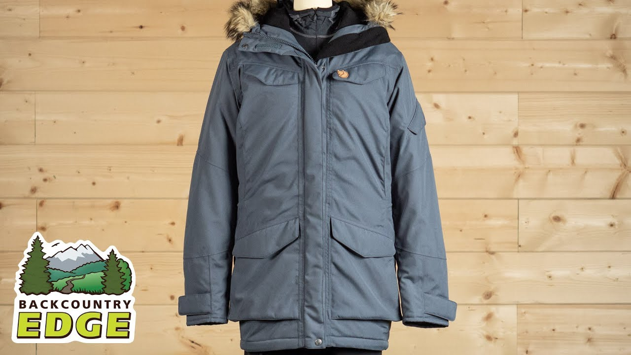 a8e6d755 Fjallraven Women's Nuuk Parka - YouTube