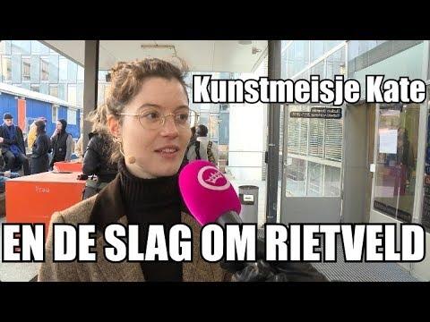 GSTV: Kunstmeisje Kate sloopt bestuur Rietveld Academie