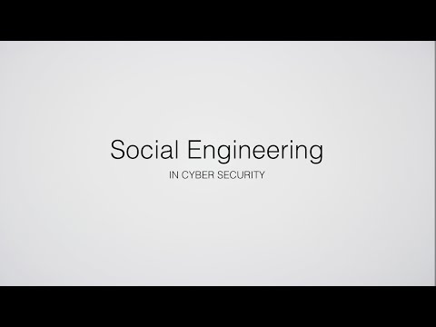 Social Engineering in Cyber Security: Description and case studies