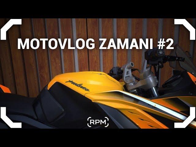 Motovlog Zamanı #2 - Pulsar 200RS  [RPM]