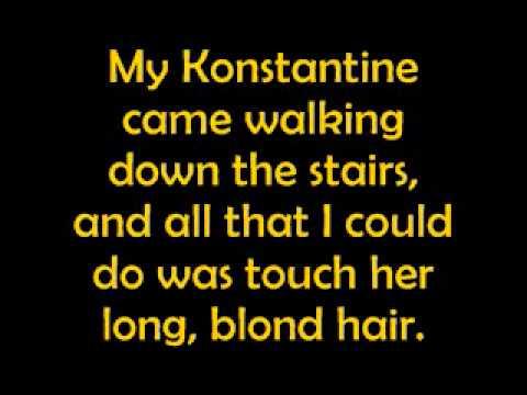 Konstantine-Something Corporate (with lyrics)
