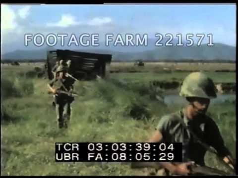 Vietnam War Marine Patrol, Danang area 221571-01 | Footage Farm