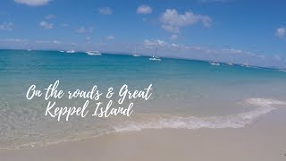 Roadtrip Vlog 2 / On the roads with my family & Great Keppel Island