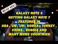 GALAXY NOTE 5  GETTING GALAXY NOTE 7 FEATURES IN  USA,UK,KOREA,CHINA AND  MANY MORE COUNTRIES