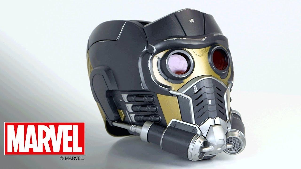 Souvent Marvel Legends - 'Star-Lord Electronic Helmet' Designer Desk - YouTube HO24