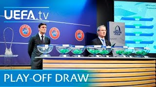 UEFA Youth League play-off round draw
