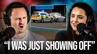homepage tile video photo for What It's Like Getting Pulled Over For Speeding | Your Car Stories (feat. Queen B)