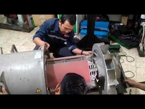 Dismantle generator stamford form LTA ENGINE DIESEL SERVICE