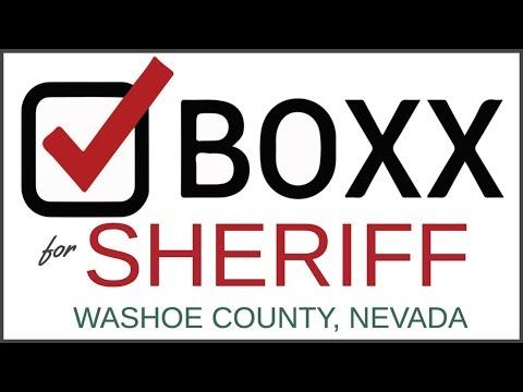 Sherman Boxx for Washoe County Sheriff
