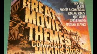 King Of Kings Theme - Great Movie Themes Composed By Miklos Rozsa - LP
