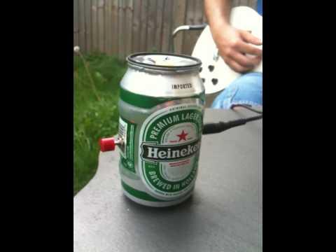 9V Beer Can Guitar Amp FOR SALE