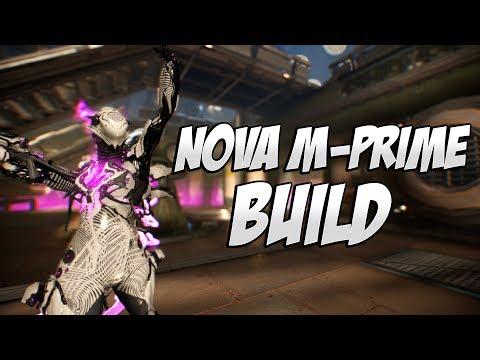 Warframe: Nova M-Prime Build