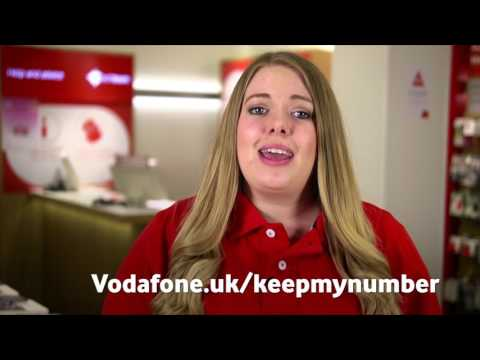 Porting Your Number Into Vodafone UK From Another Network