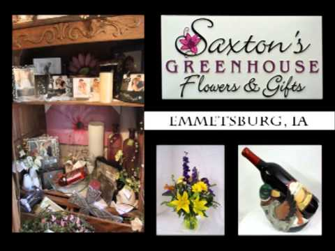 Emmetsburg Iowa's Saxton's Greenhouse Flowers & GIft on Our Story'sThe Road Trippers