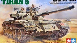 Розпакування - Огляд Ізраїльський танк ''Тиран 5'' ex T-55 Tamiya 1/35 Tiran 5