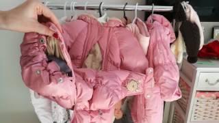 Детская верхняя одежда от 0 до года.