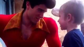"Gaston meets Aaron ... Showdown ""I am going to marry Belle"""