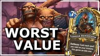 Hearthstone - Worst Value Moments