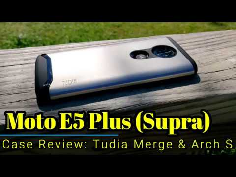 buy online 7c551 aac98 Moto E5 Plus (Supra): Case Review from @TudiaProducts