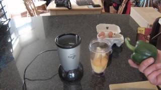 Magic Bullet omelette in 2015 part 1