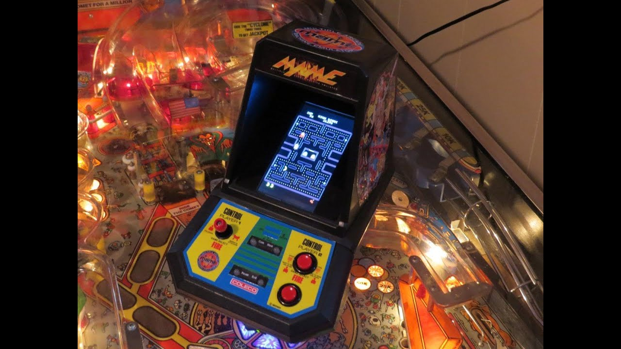Coleco Tabletop Mame Mini-arcades FOR SALE!! - YouTube