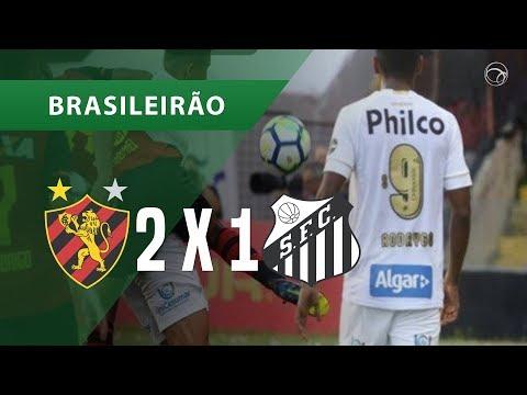 SPORT 2 X 1 SANTOS - GOLS - 02/12 - BRASILEIRÃO 2018