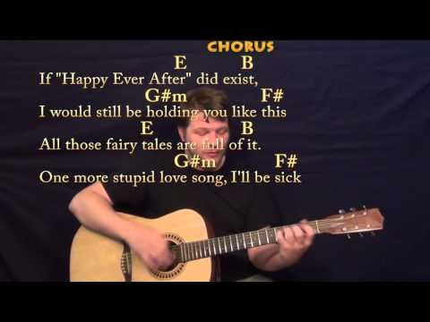 Payphone (Maroon 5) Strum Guitar Cover Lesson with Chords and Lyrics
