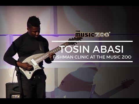 Tosin Abasi Fishman Clinic At The Music Zoo