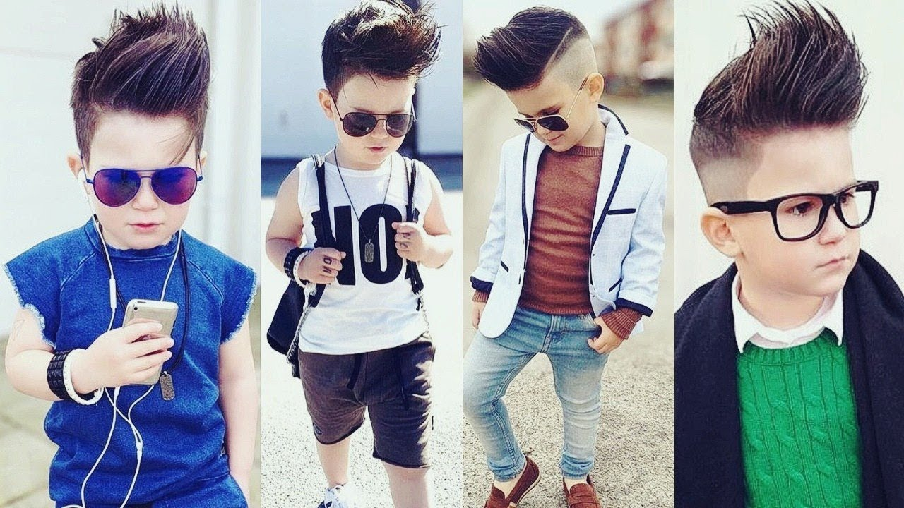 Kids Hairstyles Boys New Haircut 2017