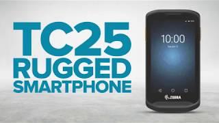 Zebra TC25 Rugged Smartphone - Lasting Battery