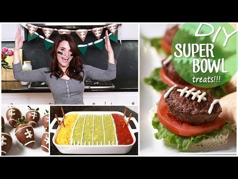 Make DIY Easy Super Bowl Treats Images