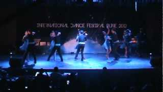 Furor Choreo Group - Salsa Performance at International Dance Festival Pune 2012