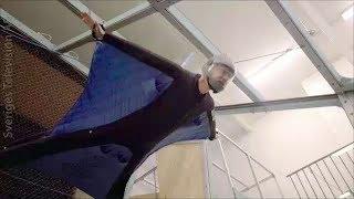Good Evenin' trying wingsuit flying