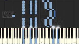 (HIGH LEVEL) V.Bellini - Casta Diva from Norma (synthesia) [piano solo tutorial]