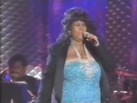 Aretha Franklin - At the 1995 Rock'n'Roll Hall of Fame