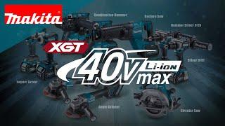 """Makita Li-ion 40V max series """"XGT"""""""