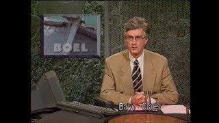 BRTN Journaal 'halfacht' [Bavo Claes] (22 september 1992)