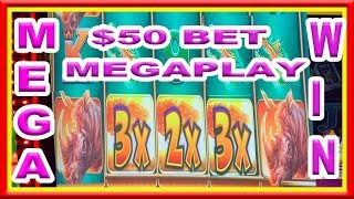 ** MUST WATCH ** NEW MEGA PLAY ** $50 SPIN ** MEGA WIN ** RHINO CHARGE ** SLOT LOVER **