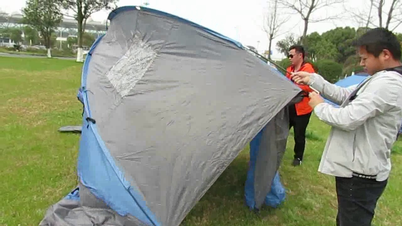 how to set up a camping TENT - Camping Tips