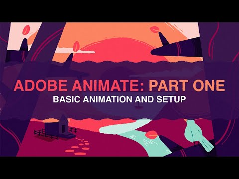 Intro to Adobe Animate 2020 [1/4]   Beginners Tutorial